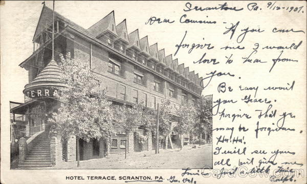 Hotel Terrace front