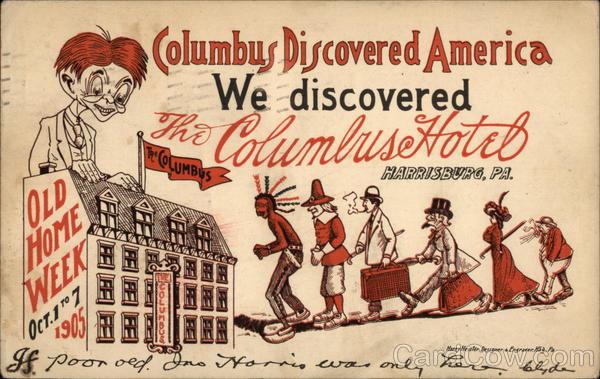 Columbus Hotel Harrisburg